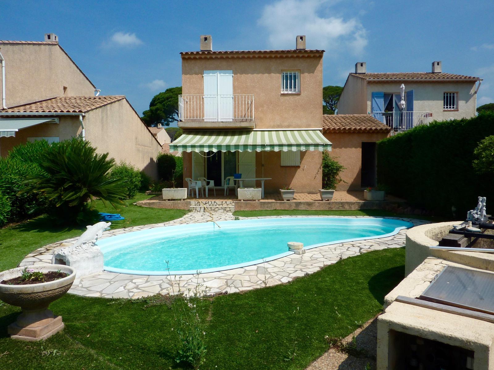 Frejus maison 3 pieces avec piscine et garage